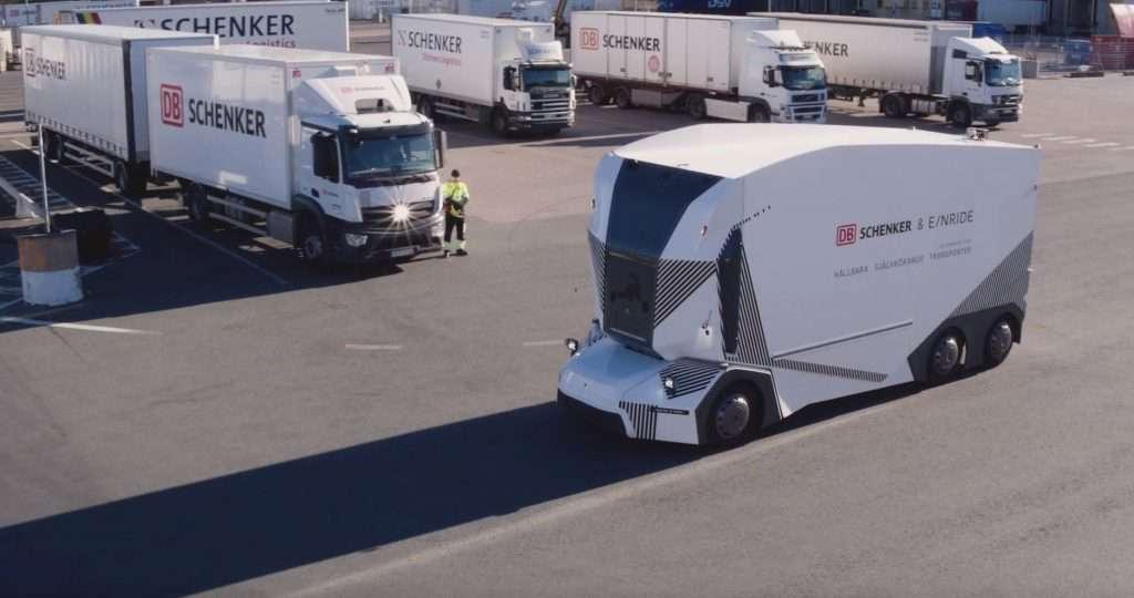 camion electirc fara sofer